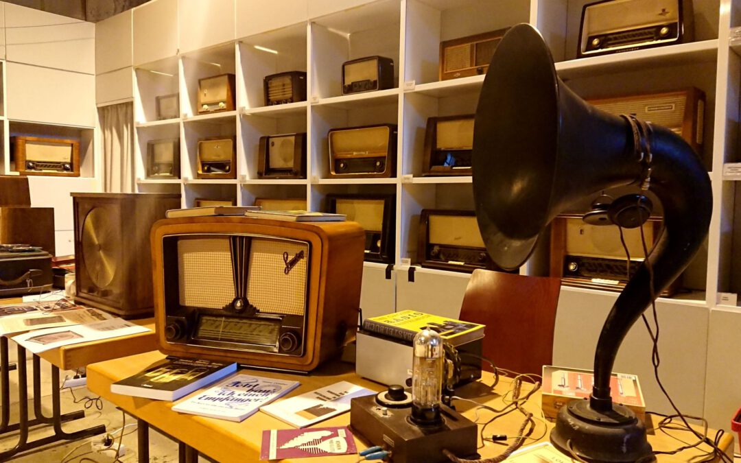 Radio hören wie vor 100 Jahren